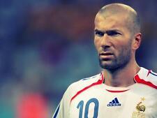 Zinedine Zidane A4 Photo 2