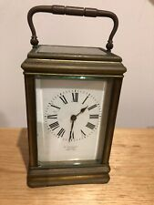Antique Carriage Clock Made In France . Circa 1900