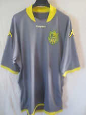 Maillot F.C NANTES 2010 KAPPA shirt collection maglia trikot moulant gris away L