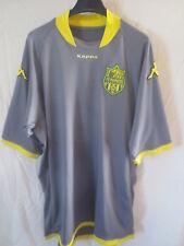 Maillot F.C NANTES 2010 KAPPA shirt collection maglia trikot moulant gris away L