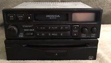1999-2001 Honda Accord Radio Cassette CD 39100-S10-A310-M1 w/ 08A06-1A1-050 OEM