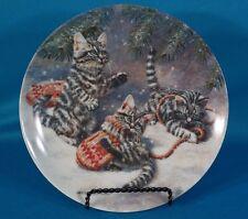 "Knowles ""Kittens & Mittens: Silver Tabbies"" by Amy Brackenbury Plate"