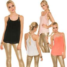 Damen-Trägertops S locker sitzende Damenblusen, - tops & -shirts