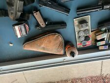 New listing BB guns air soft with accessories. All guns are black in color and use co2/pump