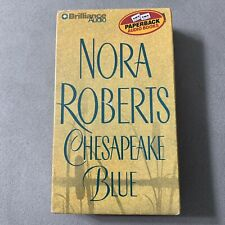 Nora Roberts Chesapeake Blue Brilliance Audio Cassette...