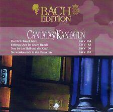 BACH: CANTATAS - KANTATEN BWV 104, 83, 50 & 183 / CD - TOP-ZUSTAND