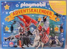 PLAYMOBIL 4160 Adventskalender Drachenland Ritter Drache Pferde Skelett B-W NEU