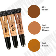 "LA Girl Pro HD High Definition Concealer Long Lasting ""Toast, Warm Honey, Fawn"""