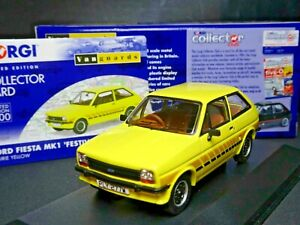 WOW EXTREMELY RARE 1/43 VANGUARDS FORD FIESTA MK1 PRIARIE YELLOW NLA