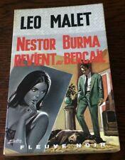Léo MALET / NESTOR BURMA REVIENT AU BERCAIL  EO 1967 Special Police ill GOURDON