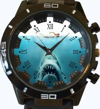 Jaws Shark Attack New Gt Series Sports Unisex Gift Wrist Watch