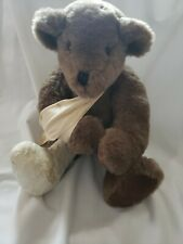"""Muriel Townsend 1986 OOAK """"BOO-BOO"""" Jointed 18"""" Teddy Bear VELOUR Paws"""