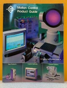 Aerotech, Inc. 1993 Motion Control Product Guide (Catalog).