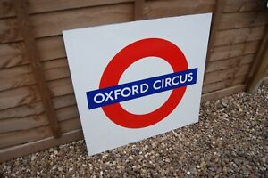 Genuine London Underground Roundel Oxford Circus Station Transport For London