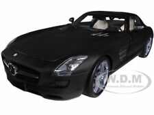 2010 MERCEDES SLS AMG MATT BLACK 1/18 LTD TO 1008PC BY MINICHAMPS 100039027
