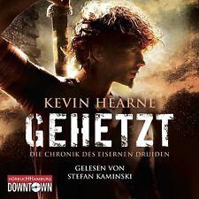 STEFAN KAMINSKI - K.HEARNE: GEHETZT (CHRONIK D.EISERNEN DRUIDEN 1)  CD-ROM NEU