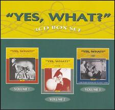 YES WHAT? (6 CD) Vols 1 - 3 ~ VINTAGE AUSTRALIAN RADIO COMEDY - 50's *NEW*