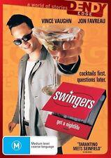 Swingers (DVD, 2010)  *Vince Vaughn ,Jon Favreau* BRAND NEW REGION 4