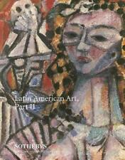 Sotheby's Latin American ARt Part II Auction Catalog 1995