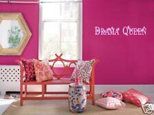Drama Queen Girls Teen Bedroom Vinyl Wall Art Decal