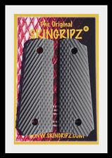 """1911 Grips - """"RANGER"""" Full Size Colt Kimber - (GREY) -Original SkinGripz !"""