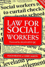 Law for Social Workers, Martin, Gerry, Brayne, Hugh | Paperback Book | Acceptabl