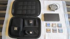 Nintendo Black DSi with 6 Games Charger and Case