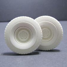 Jimmy Flintstone Resin White Wall Rat Rod Treaded tires. 1 pair - #JFW10