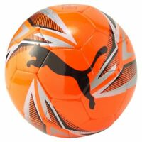 Puma ftblPLAY Big Cat Ball Trainingsball Fußball orange silber schwarz