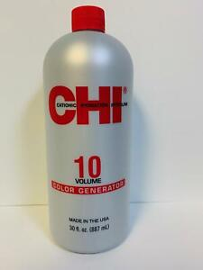 CHI 10 Volume Color Generator Color Developer - 30 oz
