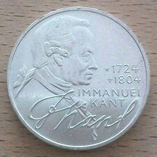 Kant 5 Deutsche Mark Silber 1974