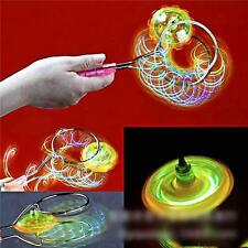 Magnetic Gyro Wheel Magic Spinning Top Laser LED Gyro Colorful Light Toy YZ