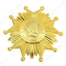 French LEGION OF HONOR Medal GOLD Award Grand Officer Breast Insignia Badge New