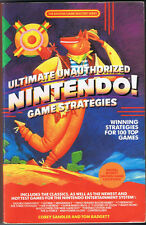 Ultimate Unauthorized Nintendo Game Strategies by Corey Sandler (1989, PB)