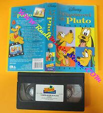 VHS film I CAPOLAVORI DI PLUTO animazione 1998 WALT DISNEY VS 4750 (F85*) no dvd