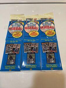 (3)2012 Topps Archives Baseball Jumbo Packs