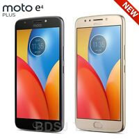 "Moto E4 Plus XT1775 (16GB) 5.5"" HD, 5000mAh, 4G LTE GSM + CDMA Factory Unlocked"
