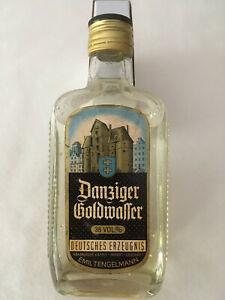 Danziger goldwasser 38 % mit Goldstücken 0,35 ltr. 40 Jahre alt