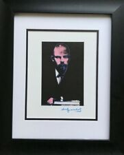 ANDY WARHOL ORIGINAL 1984 SIGNED LENIN PRINT MATTED TO BE FRAMED AT 11 X 14