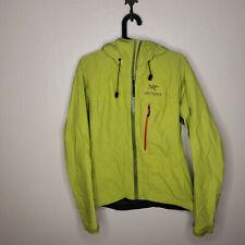 Womens Arc'teryx Gore-Tex Paclite Green Rain Jacket Size Medium