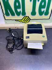 Zebra LP2844 Direct Thermal  Label Printer with PSU  and USB Cable TESTED UK #4A