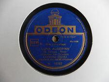 Luciano Tajoli con orchestra - Serenata Celeste / Luna Algerina - 78 giri