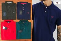 GANT MEN'S CONTRAST COLLAR PIQUE POLO SHIRT