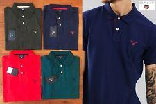 Gant Para Hombre Camisa Polo Piqué cuello de contraste