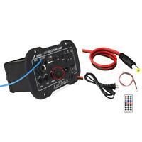Subwoofer Power Amplifier Board Car Bluetooth Audio 12V 24V 220V Speaker DIY