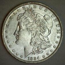 1884 O Morgan Silver BU One Dollar $1 Coin Uncirculated New Orleans #JC-4
