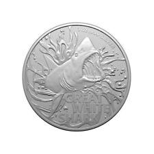 AUSTRALIE 1 Dollar Argent 1 Once Grand Requin Blanc 2021