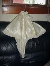 Fantastic Doll Wedding Gown w Train & Beautiful Lace Trim