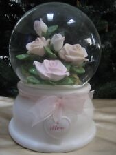 """Agc Musical Glitter Snow Globe Special For A Mom - Tune """"Waltz Of The Flowers"""""""