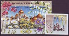 TANZANIA 1997 FLOWERS OF THE WORLD SHEETLET 6 + MINISHEET   MINT NEVERHINGED